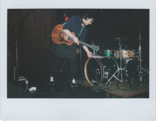 stagnantcult:  here's a polaroid i took last night of the cutest girl that ever existed.