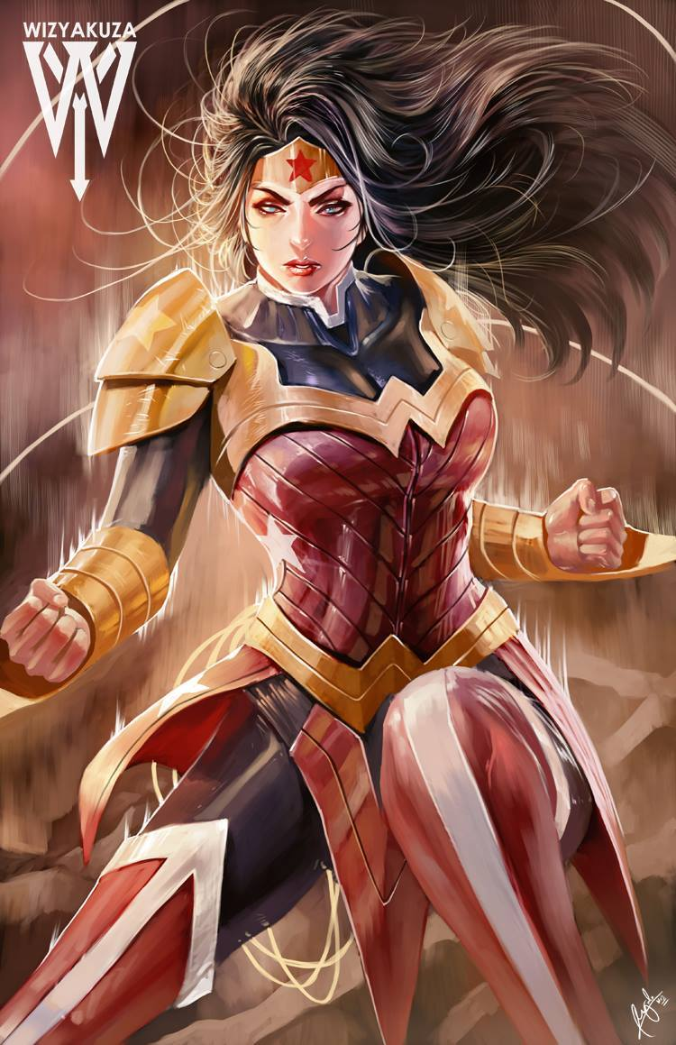 Wonder Woman by Ceasar Muyuela
