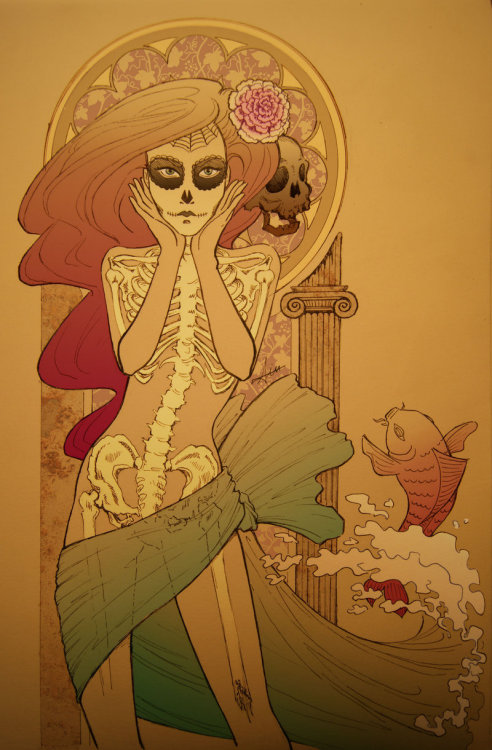 fer1972:  Little Mermaid got her Legs by AnaDalle