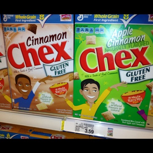 Why chex cereal got to be so racist & segregate? I like cinnamon & apple!