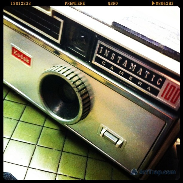 Happy 50th Anniversary to the Instamatic camera series! (via Louis Trapani is Trapped on Earth! • Relic Found: A Kodak Instamatic 100 Camera. It…)