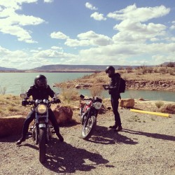 We made it.  (at abiquiu lake)