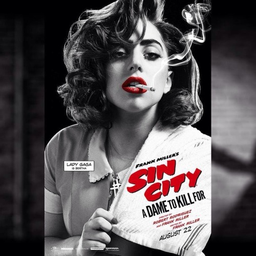 Lady Gaga is the epitome of the triple threat!! Sin City A Dame to Kill For is out in theaters today!!