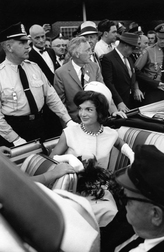Jackie Kennedy in Hyannisport, 1960.
