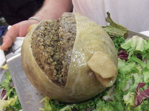 harvestheart:  A bountiful serving of Haggis -