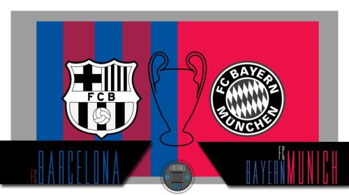 FC Barcelona v FC Bayern Munich , can Barcelona do the impossible and over turn the (0-4 agg)?  What are your score predictions for this match?!  Who will join Dortmund in the final?