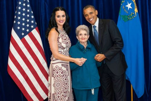 untouchedpeacock:  thebestsandwichever:  Katy Perry and Barack Obama with a lady  with a lady  with a lady jesus take the wheel JESUS TAKE THE WHEEL