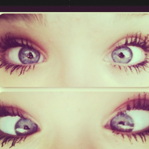 #eyes #me #blueyes #edit #love #lashes #mascara