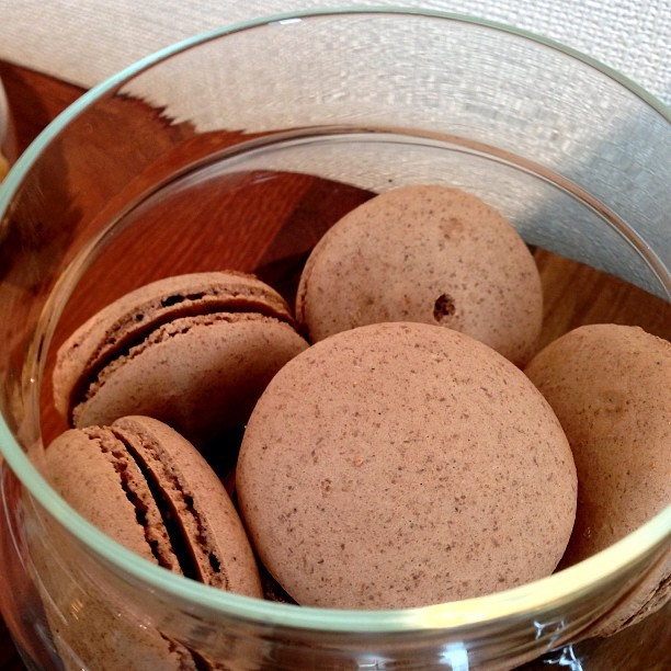 #Chocolate #Macaroons! - #pastry #dessert #food