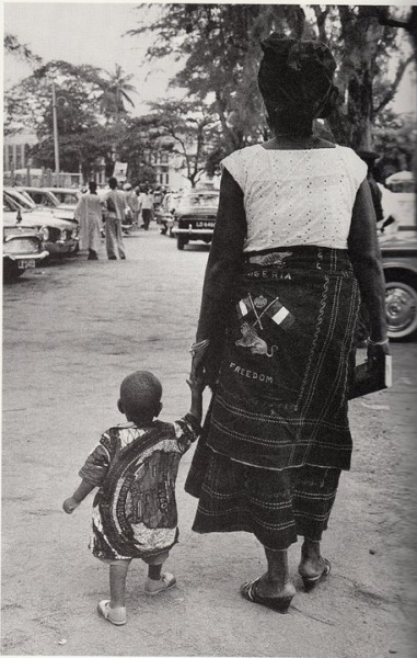 nigerianostalgia:  A mother and her sonOct 1st 1960 More Vintage Nigerian photos