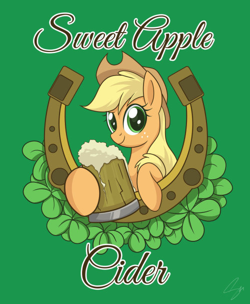 royalcanterlotvoice:  AJ St. Patrick's Day Tee by *steffy-beff http://www.welovefine.com/4889-sweet-cider.html