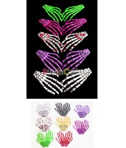 Preorder One Piece Japanese Skeleton Hair Clip Color: Red, Blue, Pink, White, Purple, Green, Black $4+ shipping
