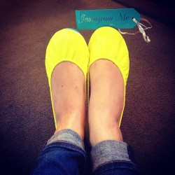 How Alice & wonderland of them. Love my new @tieks! Thanks #tieks #sofreakincomfortable #foldemup