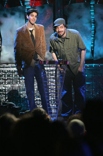 Aesop at the 2005 MTVU Woodie Awards