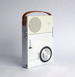 TP 1 radio/phono combination, 1959, by Dieter Rams for Braun.