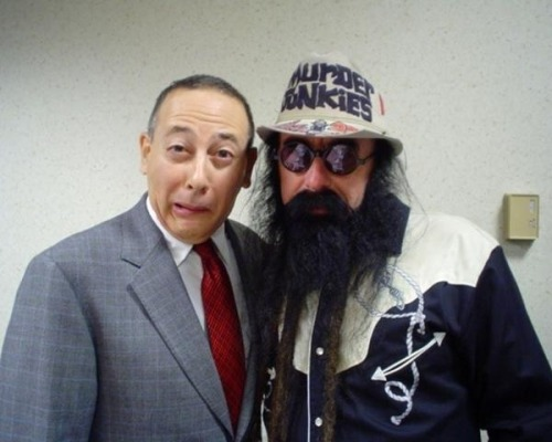 ggallinfanpage:  Paul Reubens and Merle Allin!