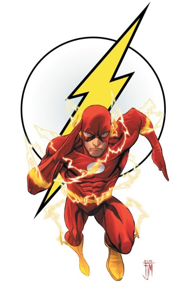 mamhe22:  The Justice League's Flash.