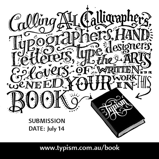 The @typism book launched today. Even if you can't make the conference, you can still be a part of it. www.typism.com.au/book