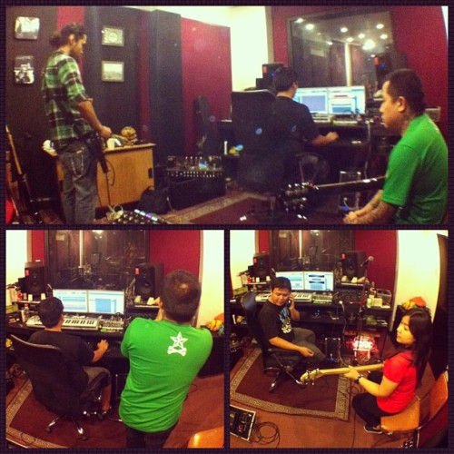 Day 23 of Recording: Guide tracks! @urbandub @towerofdoom (at Tower Of Doom)