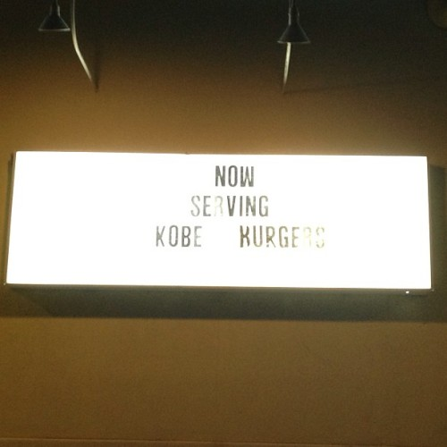 #kobe #bryant #lol #haha #funny #laugh #me #asian #korean #korea #sign #food #burger #restaurant #jersey #apple #iphone #lakers