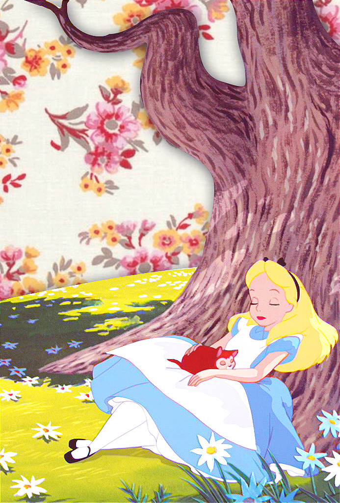 - iPhone Backgrounds → Alice in Wonderland by...