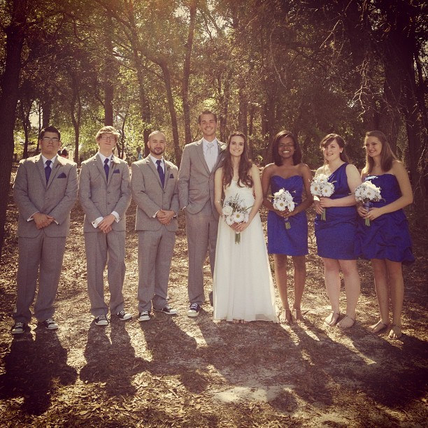 The wedding party! We are now Me. And Mrs. Soroka