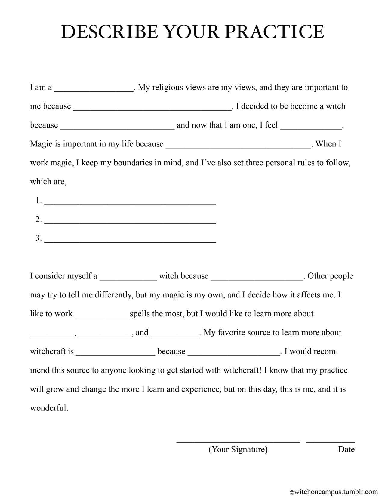 Witch On Campus – I and Me Worksheets