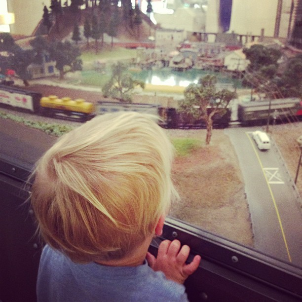 Train! (at Lucile Packard Children's Hospital)