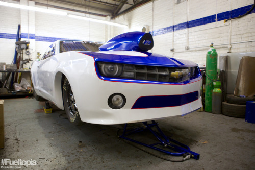 Applied force Starring: Chevrolet Camaro (by Dan Fegent)