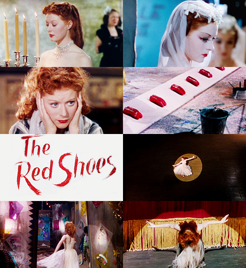Time rushes by, love rushes by, life rushes by, but the Red Shoes go on.