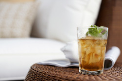 Cool down with mint tea