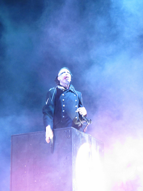 Marilyn Manson on Flickr.Whatcha lookin' at??