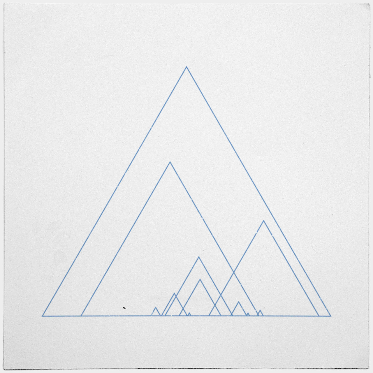 geometrydaily:  #390 Grand ridge – A new minimal geometric composition each day