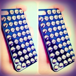 Spikes *-* #new #case #black #silver #spike #iphone #5