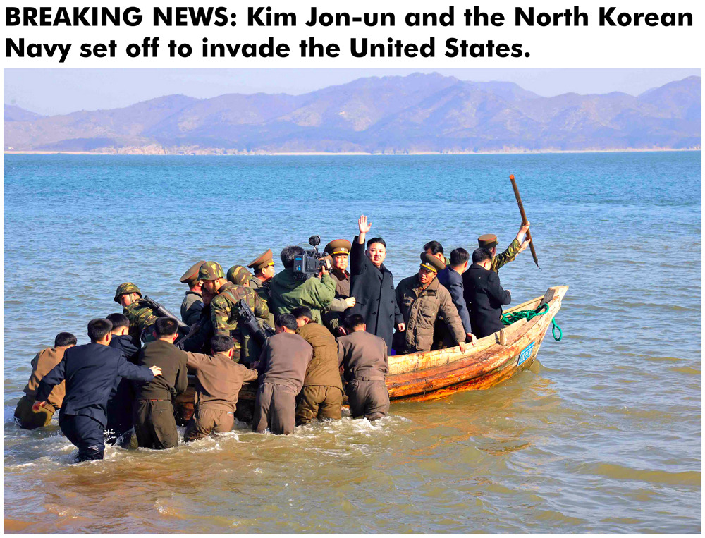 LOL! North Korean Navy…