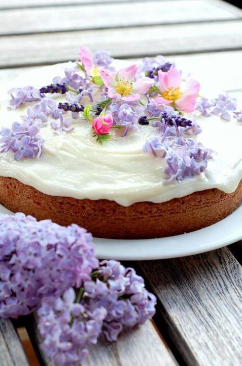 Flowers!  Cake!  Colors!!!
