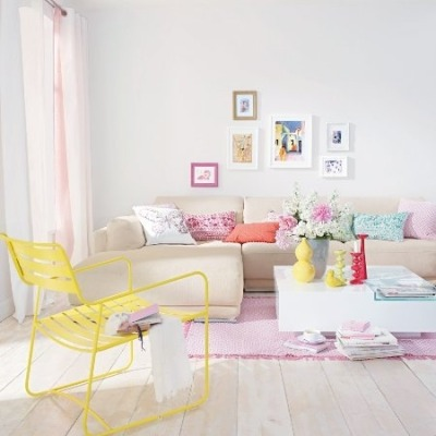 highfashionhome:  With Spring springing and Easter right around the corner, pastels are everywhere!! Soft, subtle and a light touch of color, pastels can work anywhere. Check out some ideas -http://blog.highfashionhome.com/2013/03/pretty-in-pastels.html