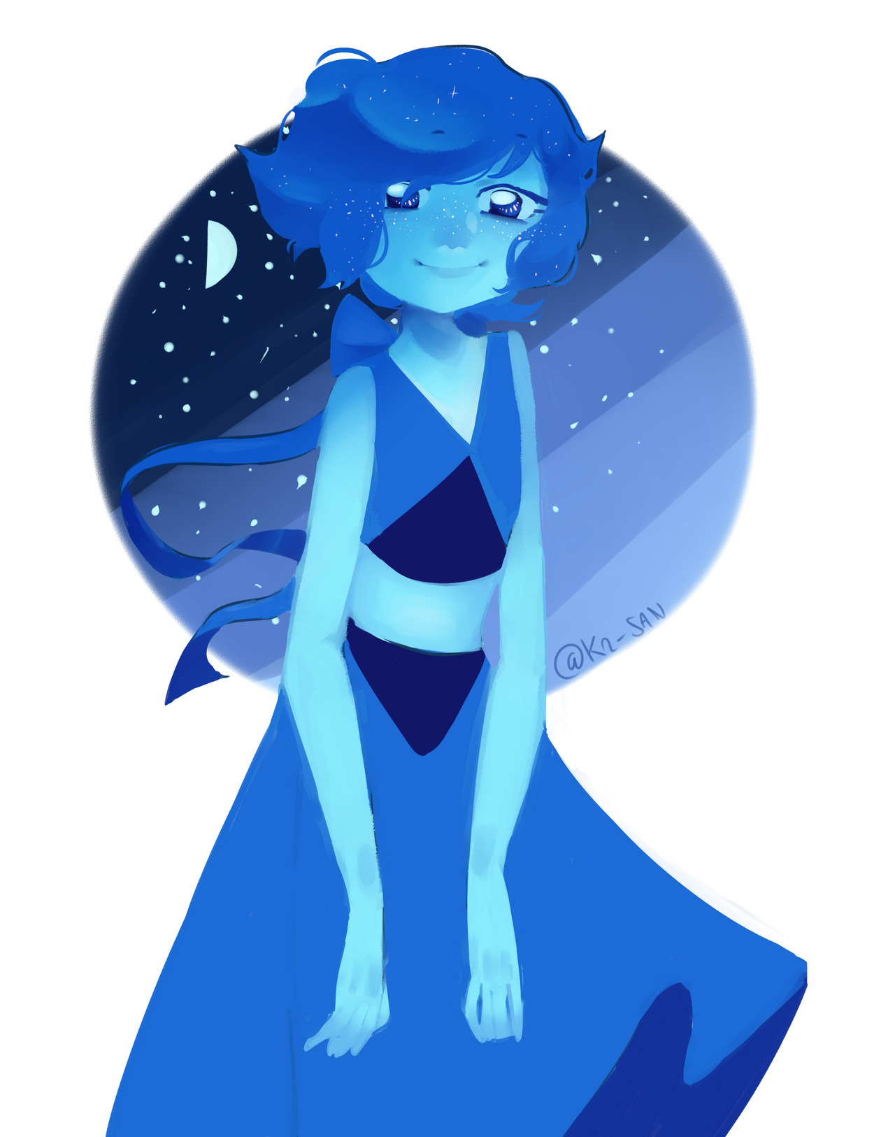 """Thank you, Steven.""i fell in love with lapis she's just too cool"