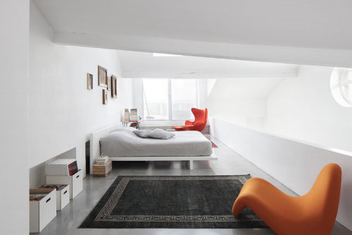 modern bedroom (via desire to inspire - The photographer's studio)