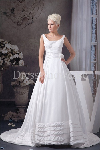 Summer A-Line Straps Court Train Satin Zipper-back Wedding Dresshttp://www.Dress-ShowCase.com/Summer-A-Line-Straps-Court-Train-Satin-Zipper-back-Wedding-Dress-p20…View Post