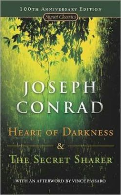 Heart of Darkness and The Secret Sharer, Joseph Conrad (M, teens, backpack at feet, reading w chin on palm, G train) http://bit.ly/VBob3q