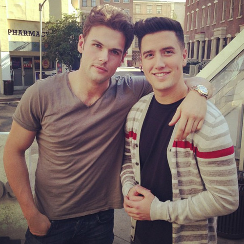 kendork-schmidt:  @stephenglickman: Logan and David are better looking than your boyfriend.