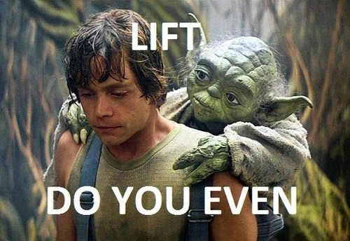 """Lift do you even?"""