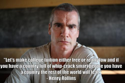 darthxinvader:  Vote Henry Rollins for president