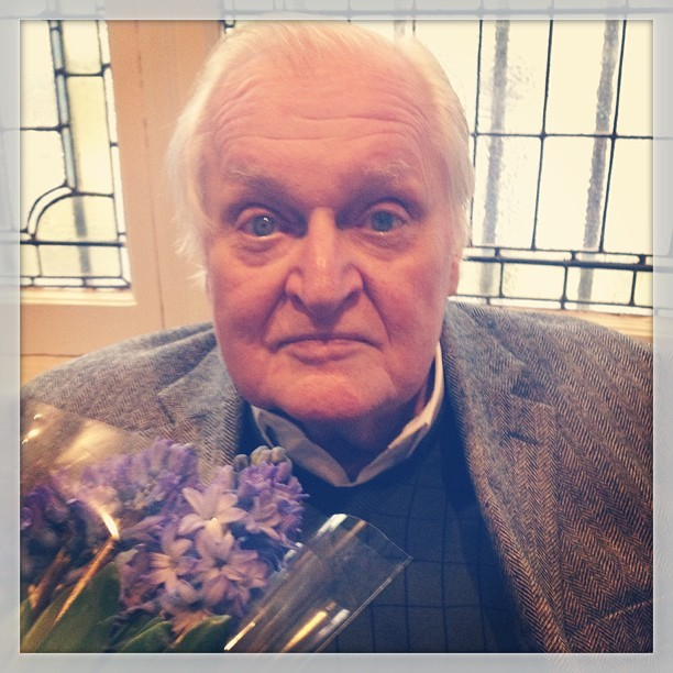 Instagram of JA in a Prospect of Flowers