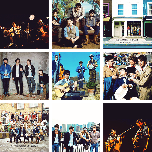 favourite artists 1/? - mumford and sons