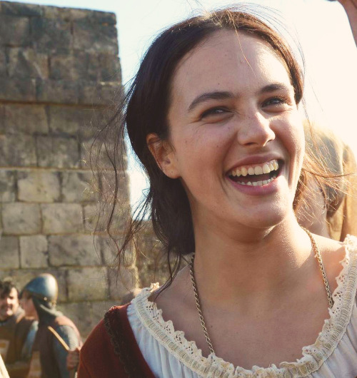 Jessica Brown Findlay || Labyrinth Behind the Scenes.