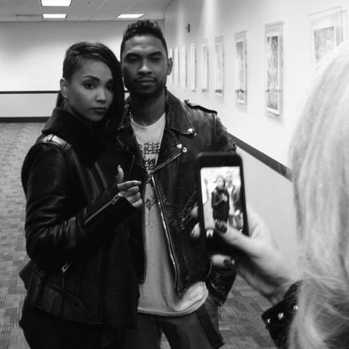 tuffscotty:  Stopped by to check my Boy @MiguelUnlimited #Rockstarshit