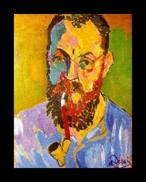 Portrait of Matisse, by Andre Derain