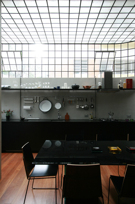 continuarte:  Industrial Loft Kitchen By  AR Arquitetos